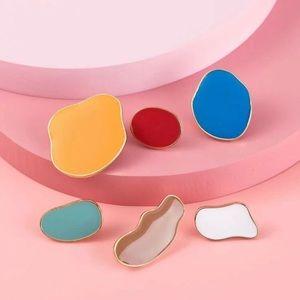3/$30 💛 3 Pair Irregular Geometric Stud Earrings